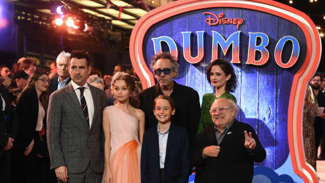 The Cast of 'Dumbo'