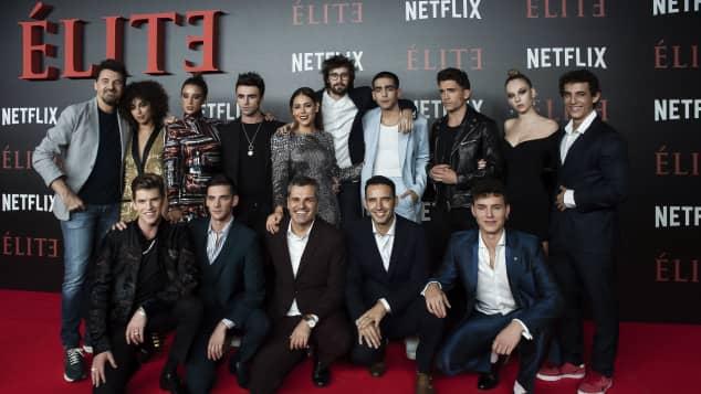 Elite Cast Premiere Netflix