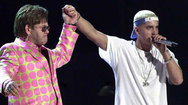 Elton John Eminem Stan Grammy Awards 2001
