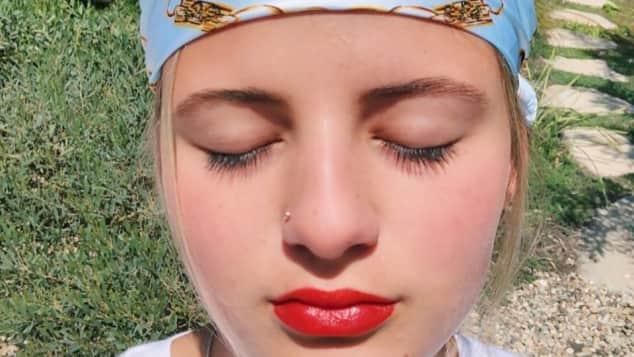 Emma Schweiger Nasenpiercing