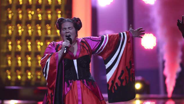 Eurovision Song Contest Teilnehmerin Netta trat 2018 für Israel an