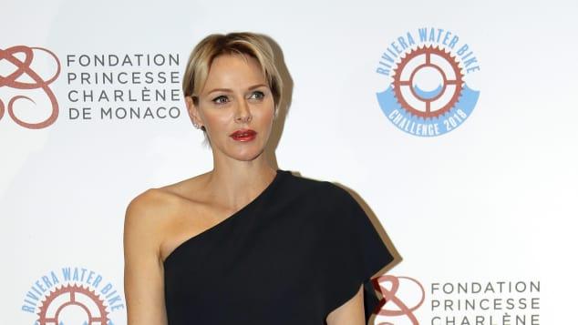 Fürstin Charlène von Monaco in coolem Jumpsuit