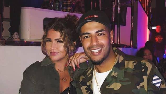 "Farina Opoku mit Freund DJ Yeezy in Dubai, Modebloggerin, ""novalanalove"""