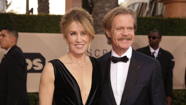 Felicity Huffman und William H. Macy SAG Awards 2018