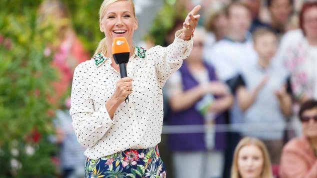"""Fernsehgarten"" 2018: Andrea Kiewel moderiert freudig wie immer"