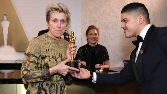 Frances McDormand, Frances McDormand Oscar, Frances McDormand Oscar gestohlen, Frances McDormand Oscar-Dieb