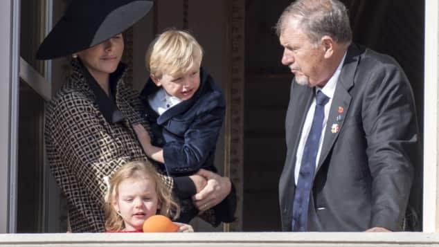 Fürstin Charlène von Monaco, Prinz Jacques, Prinzessin Gabriella, Michael Wittstock