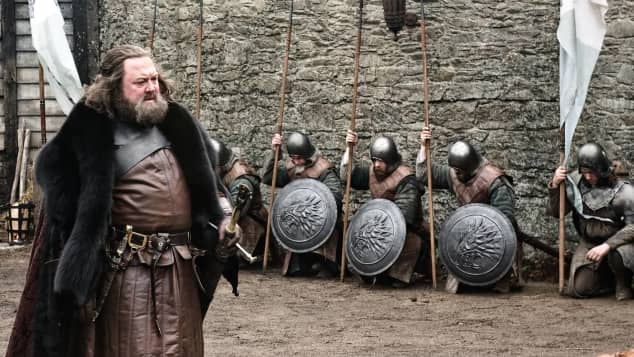 """Game of Thrones""-Spin-Offs: ""Robert Baratheon"", Mark Addy"