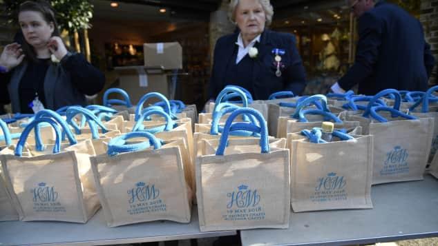 Die Goodie-Bags von Prinz Harrys und Meghan Markles Hochzeit