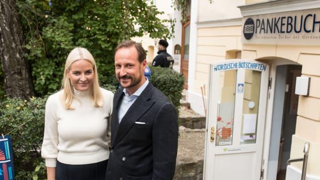 Prinz Haakon und Mette-Marit