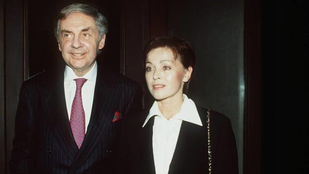Harald Juhnke und seine Frau Susanne