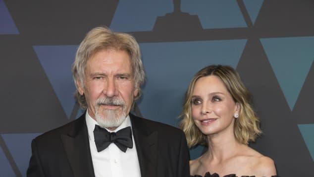 Harrison Ford Calista Flockhart verlobt Valentinstag