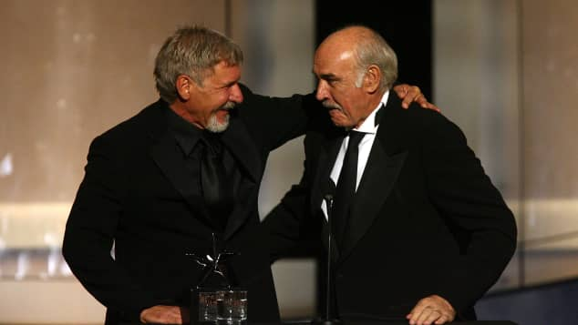 Harrison Ford und Sean Connery