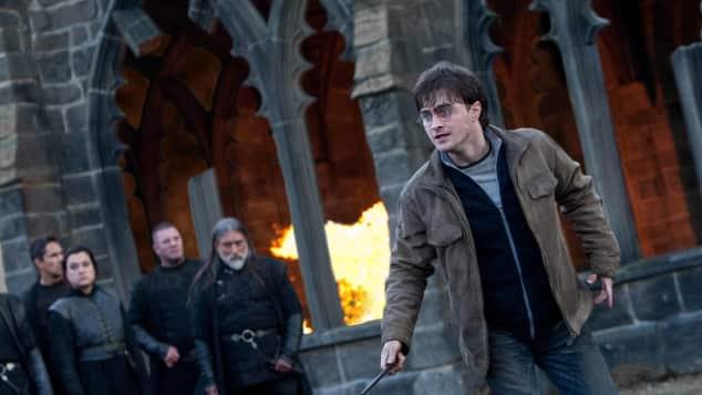 """Daniel Radcliffe alias """"Harry Potter"""" in """"Harry Potter und die Heiligtümer des Todes"""""""