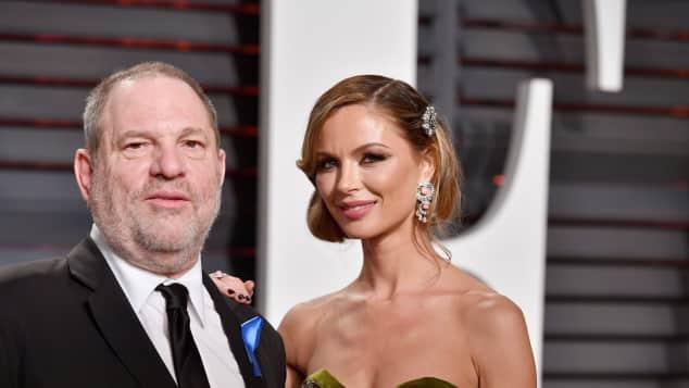 Harvey Weinstein und Georgina Chapman waren seit 2007 verheiratet