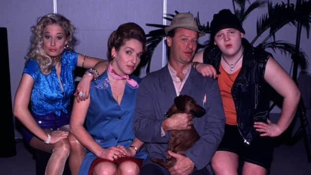 """Die """"Hausmeister Krause""""-Stars: Janine Kunze, Irene Schwarz, Tom Gerhardt und Axel Stein"""