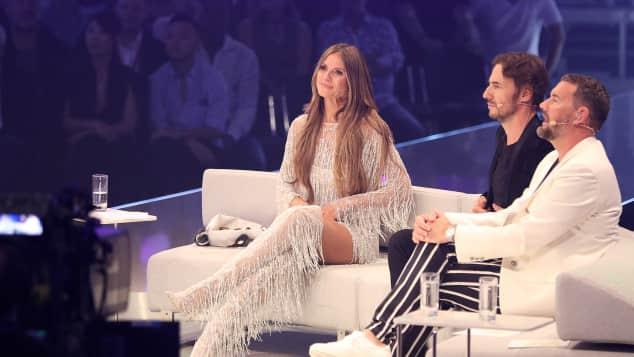 GNTM-Finale: Heidi Klum zog mit ihrem Outfit alle Blicke auf sich