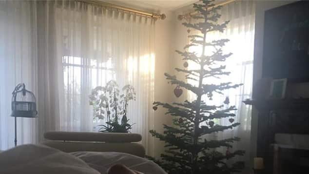 Heidi Klum sexy Weihnachten