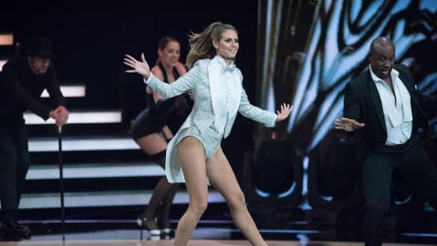 "Heidi Klum beim ""Germany's Next Topmodel"" 2017"