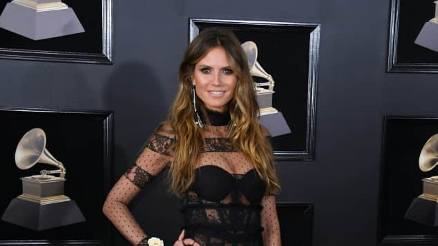 Heidi Klum Grammys sexy