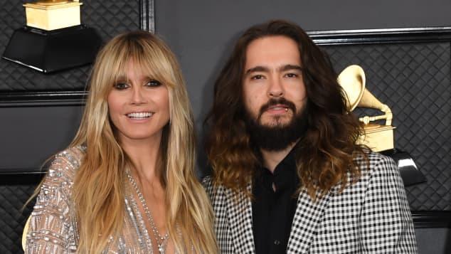 Heidi Klum und Tom Kaulitz  bei den Grammys 2020
