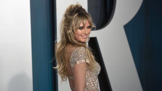 Heidi Klum bei der Vanity Fair Oscar Party 2020