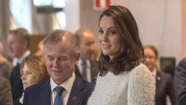 Herzogin Catherine Babybauch Schweden