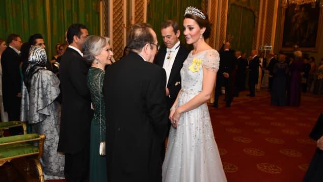 Herzogin Kate Empfang Buckingham Palast