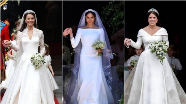 Herzogin Kate, Herzogin Meghan und Prinzessin Eugenie: Wer ist die schönere Braut?, Herzogin Meghan