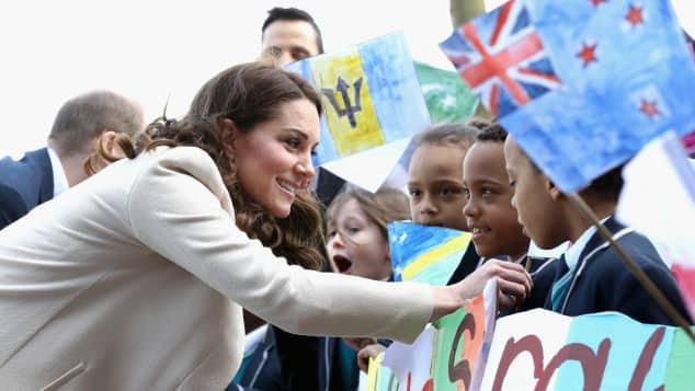 Herzogin Kate, Herzogin Kate mit Kindern, Herzogin Kate letzter Auftritt, Herzogin Kate Babypause