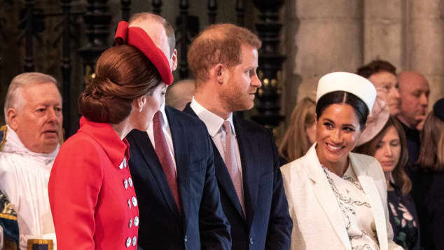 Herzogin Meghan Herzogin Kate Gottesdienst Commonwealth Day
