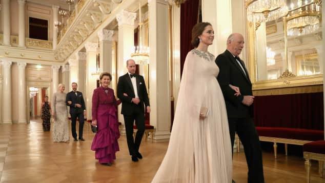 Herzogin Kate und Prinz William zu Besuch bei den norwegischen Royals, Oslo, Skandinavien Tour