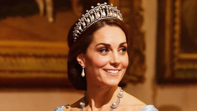 Herzogin Kate Lady Dianas Tiara
