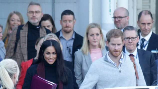Herzogin Meghan und Prinz Harry in Australien