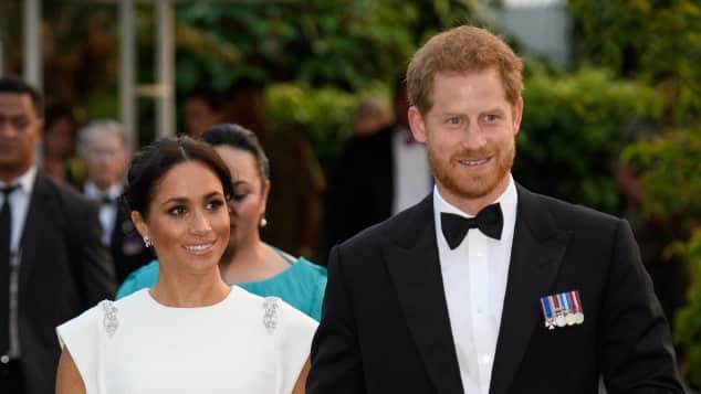 Herzogin Meghan und Prinz Harry auf Tonga