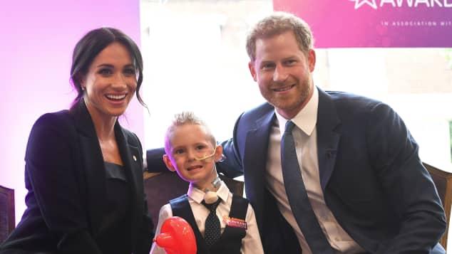 Herzogin Meghan und Prinz Harry besuchten die WellChild Awards