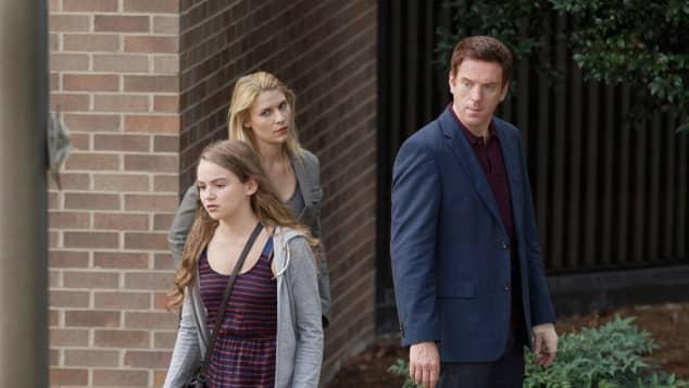 """Morgan Saylor, Claire Danes und Damian Lewis in """"Homeland"""""""