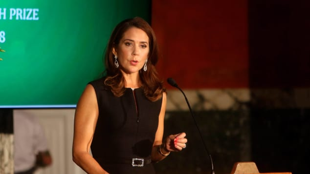 Princess Mary of Denmark at the Carlsberg Award Ceremony