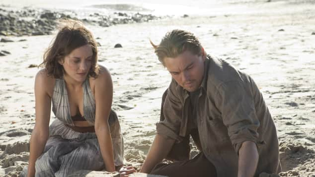 "Leonardo DiCaprio und Marion Cotillard in ""Inception"""