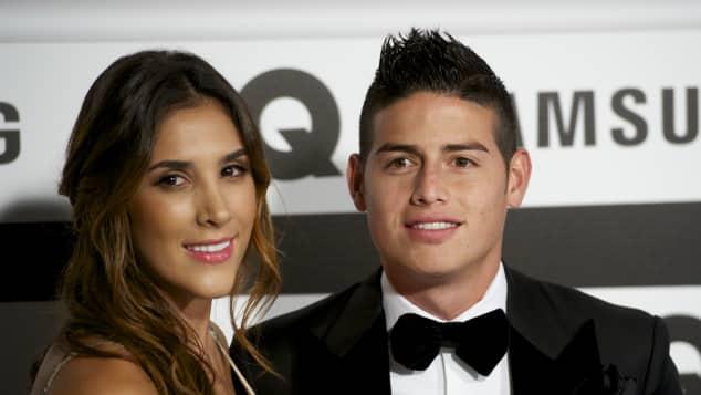 Daniela Ospina und James Rodriguez waren sieben Jahre verheiratet