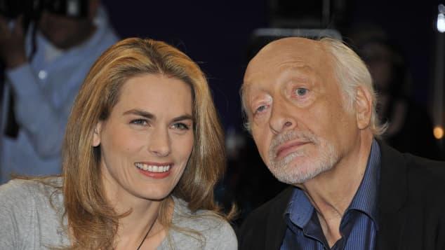 Janina Dall und Karl Dall in einer NDR-Talkshow 2012