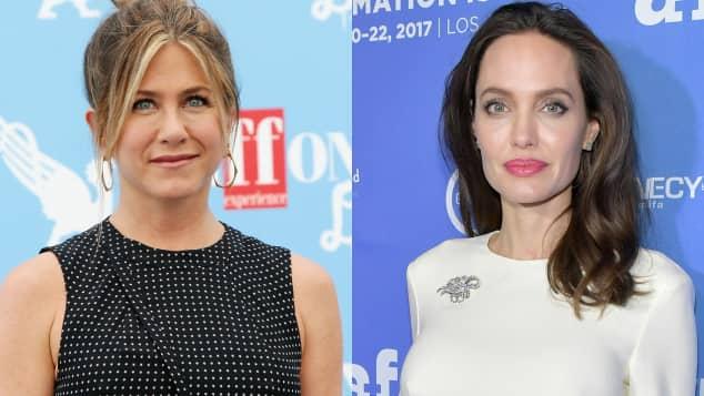 Jennifer Aniston und Angelina Jolie