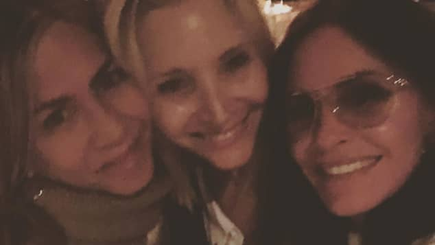 Jennifer Aniston, Lisa Kudrow und Courteney Cox