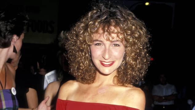 """Jennifer Grey (""""Baby Houseman"""") at the 1987 premiere of Dirty Dancing."""