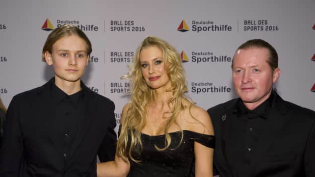 joey kelly kelly family tanja niethen sohn luke ball des sports 2016