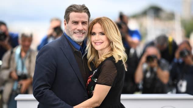 John Travolta und Kelly Preston in Cannes 2018