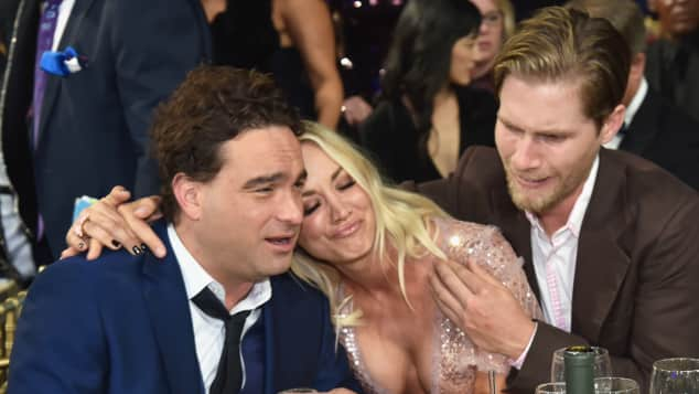 The Big Bang Theory Johnny Galecki Kaley Cuoco Critics' Choice Awards