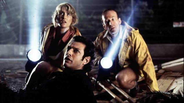 Laura Dern Jeff Goldblum Bob Peck Jurassic Park