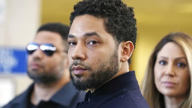 Jussie All Charges Dropped Smollett Courthouse Chicago