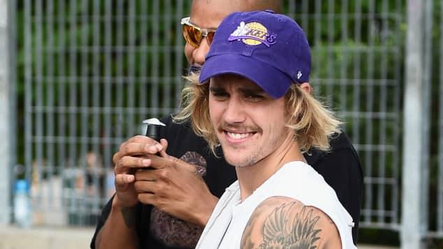 Justin Bieber bei der New York Fashion Week 2018